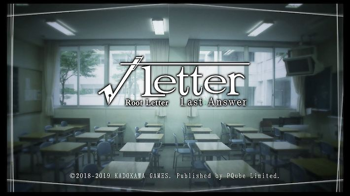 Root Letter: Last Answer (English)