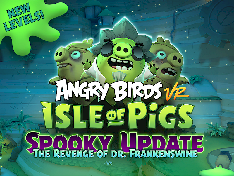 Neue Gratis Levels für Angry Birds VR: Isle of Pigs