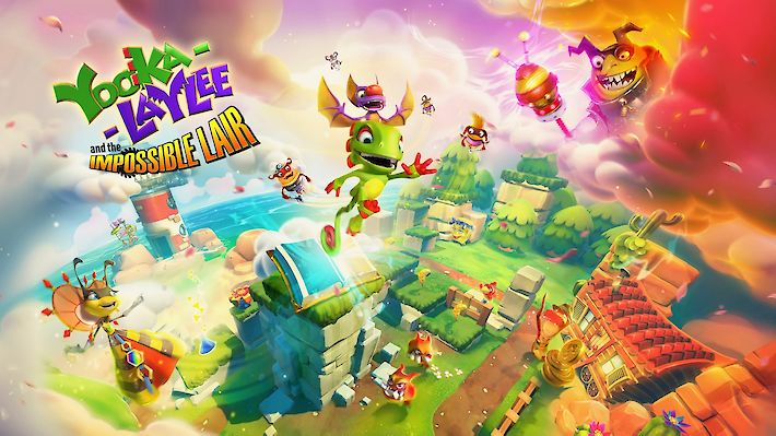 Yooka-Laylee and the Impossible Lair (PC, PS4, Switch, Xbox One) Test / Review