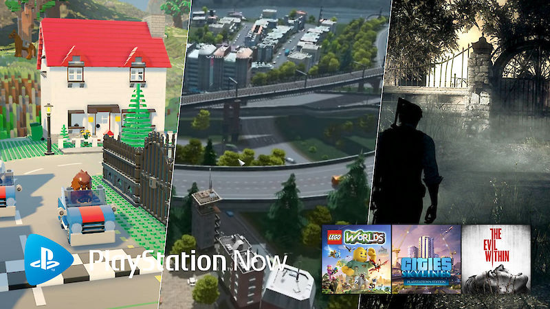 Neue PlayStation Now-Spiele im Februar 2020: Cities: Skylines, The Evil Within, LEGO Worlds
