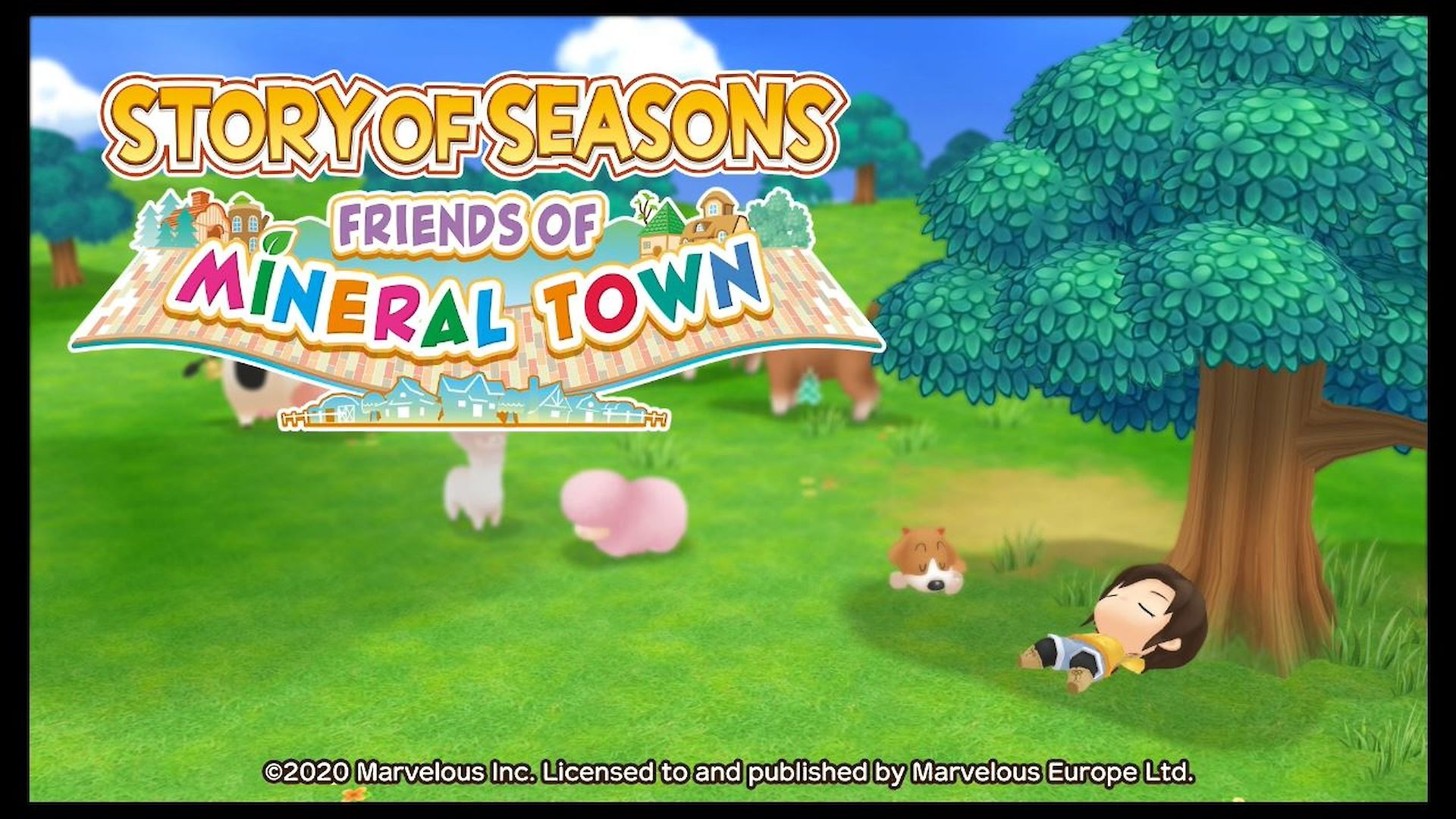 Story Of Seasons Friends Of Mineral Town Test Review