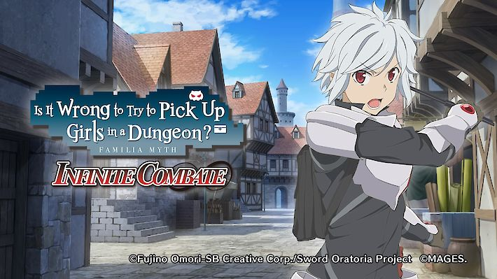 Is It Wrong to Try to Pick Up Girls in a Dungeon: Infinite Combate (PS4, Switch) Test / Review